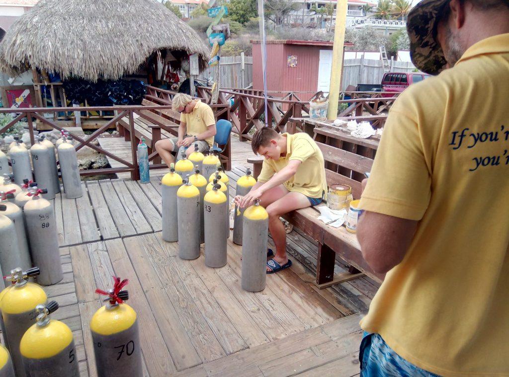 Duik spullen huren op Curacao