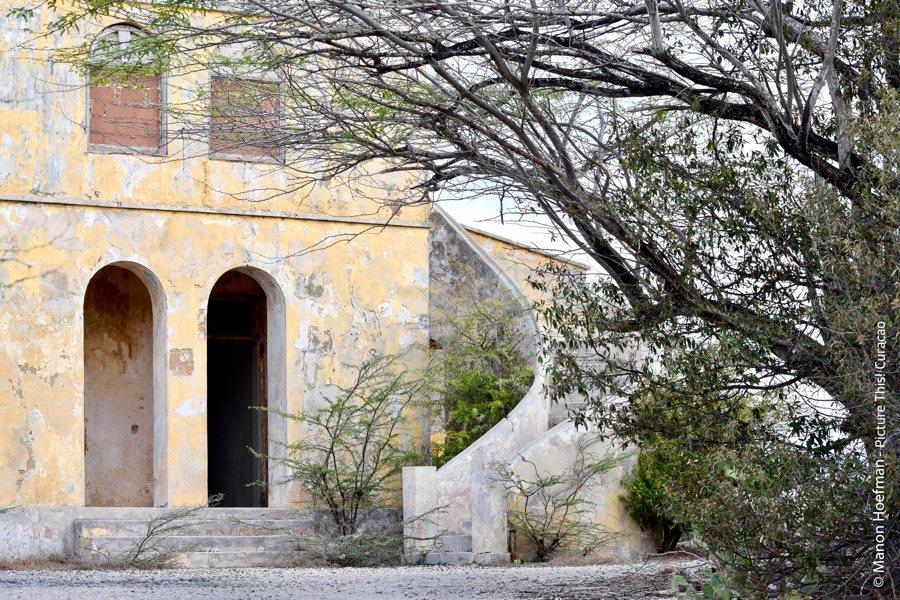Quarantainegebouw Curacao