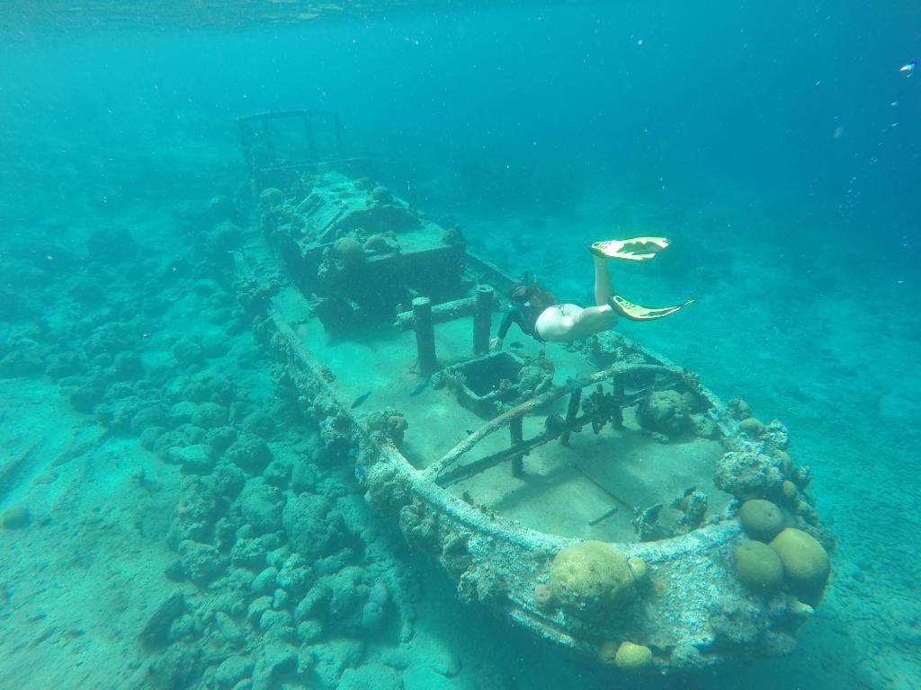 Tugboat onderwater