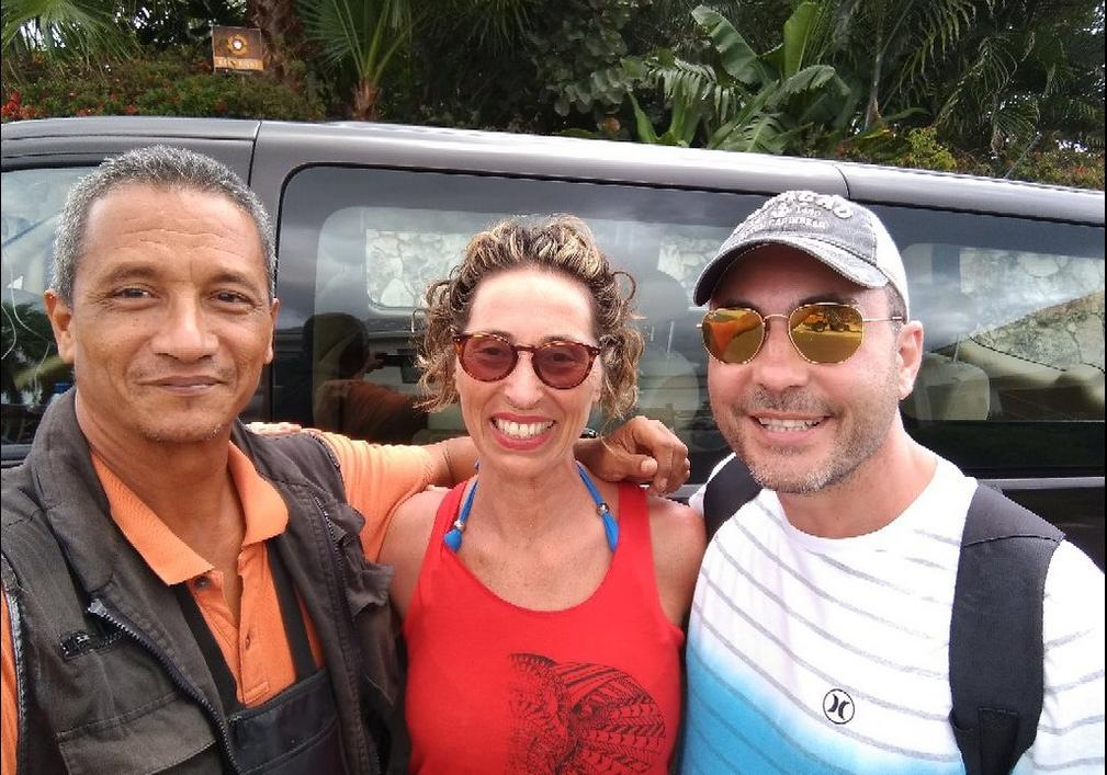Taxi naar Tugboat Beach Curacao